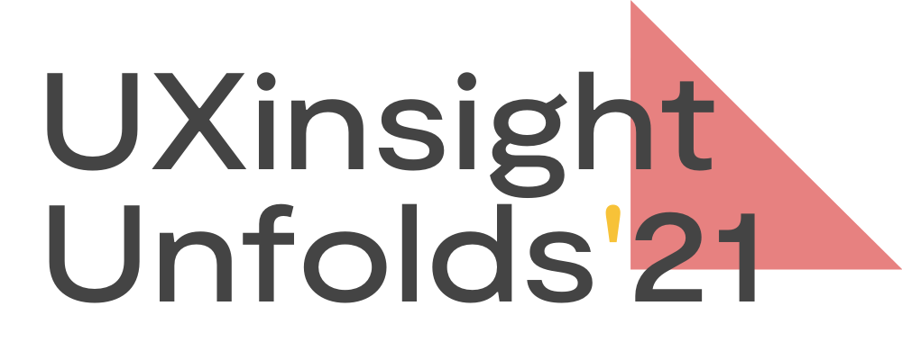 Logo UXinsight Unfolds 2021 - Making UX Research more inclusive